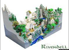 Blake Baer And Jack Bittner, Teens, Create 50,000-Piece LEGO Rivendell