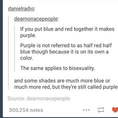 Tumblr on Bisexuality | Sexual Orientation Equality | More