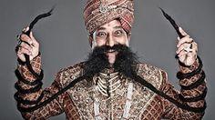 Ram Singh, India worlds longest mustache 426,72 cm