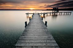 Photo another silent minute at lake ammersee by Robert Freytag on Beautiful Sunset, Munich, Maldives, All Over The World, Greece, Sunrise, Nyc, Australia, Paris