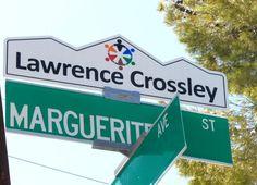 Lawrence Crossley Blade Sign, Custom Street Signs, Palm Springs, The Neighbourhood, Usa, City, The Neighborhood, Cities, U.s. States