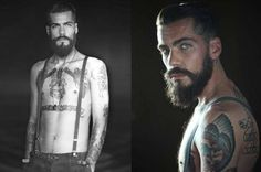 58 Fashionable Beard Styles - From Winter Viking Editorials to Facial Hair Personality Portraits (TOPLIST)