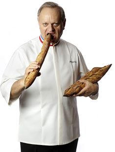 Joel Robuchon, amazing chef... Still dreaming to eat at L'Atelier !