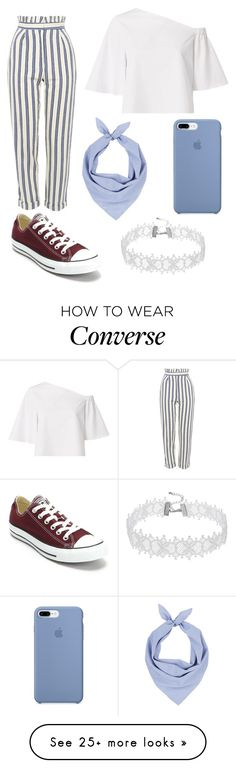 """"" by ruggi-martin on Polyvore featuring Topshop, TIBI, Barneys New York and Converse"