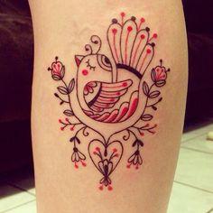 As tatuagens doces e delicadas de Dani Bianco