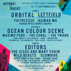 New Birmingham Festival Beyond The Tracks Announces Orbital, Editors, The Jesus And Mary Chain + More!: Beyond The Tracks is a brand new,…