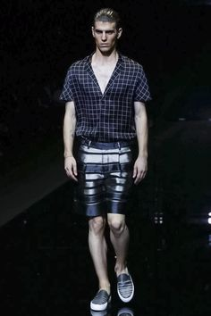 Emporio Armani Menswear Spring Summer 2015 Milan