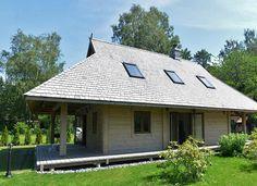 Log/timber frame house. Guļbūve.