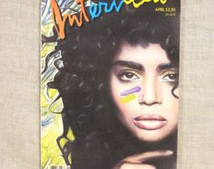 Vintage Lisa Bonet Interview Magazine Andy by Sarasvintageattic