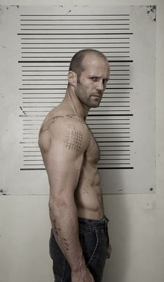 - Jason Statham - English actor, former diver and model, (to me) the incarnation of manliness, but should probably extend the register of movies he plays in . Loved him in Snatch, Revolver and -of course- The Transporter trilogy.