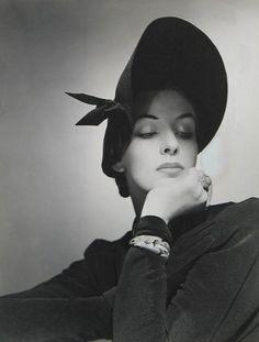 [1940] Vintage sombrero estilo años 50 :: blog Naver