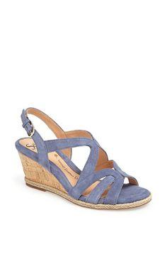 Söfft 'Ilene' Wedge Sandal available at #Nordstrom