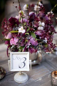 Wedding Inspirations | Plum Weddings | UBetts Rental & Design | Centerpiece