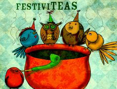 Happy New Year! Let the festiviTEAs begin. Cheers to all for the follows, the likes and the repins of my creativiTEA. May you find love, prosperity and joy in 2013. What my #Tea says to me December 31st, enjoy your festiviTEAS where ever you are :)