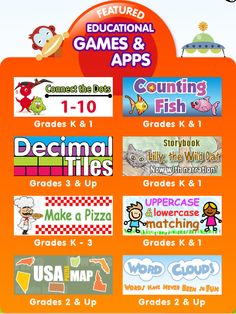 Great educational games and apps