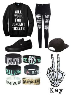 """""""Concerts and bands//Kay"""" by x-punk-and-band-stuff-x ❤ liked on Polyvore"""