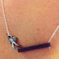 f is for frank's mad man necklace