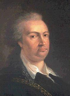 Frans van Saksen-Coburg-Saaften. Vader van Leopold l van België.