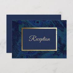 Shop Navy Blue Pattern Wedding Reception Cards created by YourWeddingDay. Blue Wedding Receptions, Wedding Reception Cards, Wedding Cards, Wedding Gifts, Whimsical Wedding Invitations, Wedding Invitation Cards, Wedding Stationery, Shower Invitations, Wedding Postage Stamps
