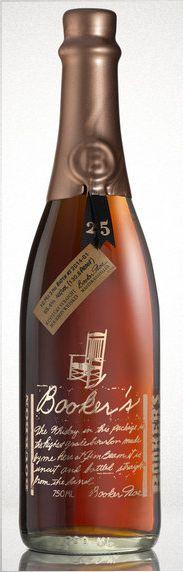 Bookers 25th anniversary bourbon