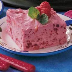 Ingredients  2 cans (21 ounces each) raspberry or strawberry pie filling  	1 can (14 ounces) sweetened condensed milk  	1 can (8 ounces) crushed pineapple, undrained, optional