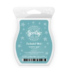 "Enchanted Mist Scentsy Bar $5.00   "" Romantic blend of juicy apples, enhanced and sweetened by rose petals and rich jasmine. """