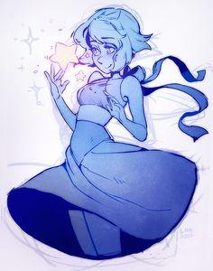 "nerdinski: "" Lapis Lazuli for Catprinx!"""