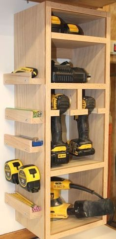 Suzi Wood Working Storage Tower - modify tree with these extras Call today or stop by for a to., Storage Tower - modify tree with these extras Call today or stop by for a to. Storage Tower - modify tree with these extras Call today or st. Diy Storage Tower, Diy Garage Storage, Storage Hacks, Shed Storage, Garage Shelving, Storage Solutions, Tape Storage, Diy Shelving, Garage Shelf