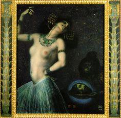 FRANZ VON STUCK  1906: Salome oil on canvas