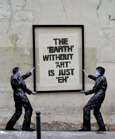 Best Ideas For Urban Street Art Inspiration Banksy Street Art Graffiti, Murals Street Art, Street Art Quotes, Graffiti Artists, Stencil Street Art, Street Art Utopia, Street Artists, Arte Banksy, Bansky