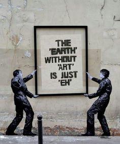 Best Ideas For Urban Street Art Inspiration Banksy Arte Banksy, Bansky, Banksy Graffiti, Graffiti Artwork, Graffiti Lettering, Graffiti Artists, Berlin Graffiti, New York Graffiti, Graffiti Wall