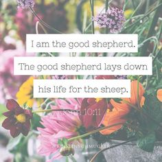He is our Shepard. Let that sink in. He leads us and loves us. We wander away from the fold and He tenderly calls us back. We fall down He picks us up. He pursues us He seeks us. He has called us. He loves us. In fact He loves us so much that He has willingly laid down His life for us.  This is amazing love.  #lampandlight #kristinschmucker by kristinschmucker