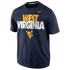 Nike West Virginia Mountaineers Youth 2013 Local T-Shirt - Navy Blue