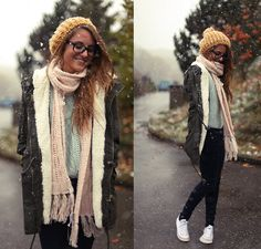 Pastel snow (by Jessica Christ) http://lookbook.nu/look/4173542-Pastel-snow