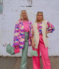 Color Combinations For Clothes, Color Blocking Outfits, Stylish Outfits, Cool Outfits, Fashion Outfits, Colourful Outfits, Colorful Fashion, Suits For Women, Clothes For Women