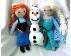 child tv characters crochet dolls - Google Search