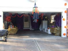 Halloween Garage Decorating Ideas Home Design