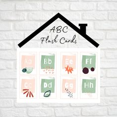 ABC Flashcards | Letter Flashcards | Alphabet Cards | Abstract ABC Cards Shapes Flashcards, Letter Flashcards, Alphabet Cards, Abc Cards, Early Math, We R Memory Keepers, Lower Case Letters, Geometric Shapes, Teacher Gifts