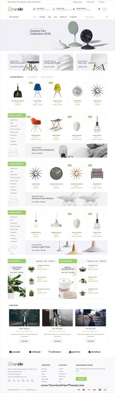 Furnilife is clean and modern design 4in1 responsive #WooCommerce #WordPress theme for #furniture shop #eCommerce website to download & live preview click on image or Visit