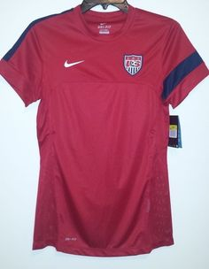 acd1fb7dc20 NEW Nike Dri-Fit USA National Team Soccer Jersey Womens S XL World Cup  528509