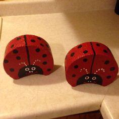 Ladybug concrete pavers