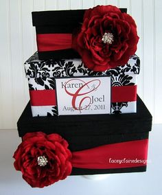 wedding card box. For mine, just change the red to teal :)
