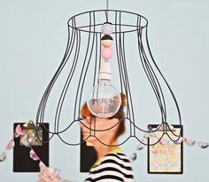 interior DIY | upcycling projekt: lampenschirm mit holzkugeln | luziapimpinella.com