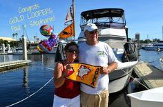 """Congrats to new Gold Loopers Paul & Stephanie, who crossed their wake in Fort Myers in November after cruising the Great Loop for eight months!  """"Along the way we met wonderful people, were ever impressed with the enormity of this country of ours and the history she embraces. We counted 111 locks and 14 states in a journey we will never forget.""""  www.GreatLoop.org"""
