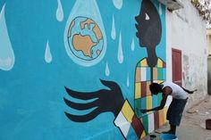 La Medina, los colores de África / @el_pais   #senegal #westernafrica