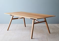 If you look into custom furniture you might just find the solid slab dining table you did not know you needed for your dining room. Modern Wood Furniture, Table Furniture, Handmade Furniture, Furniture Design, Bedroom Furniture, Simple Dining Table, Wooden Dining Tables, Dining Room Table, Wood Table Design