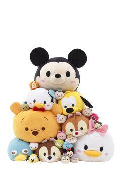 Disney Tsum Tsum Plushes! I want them all!
