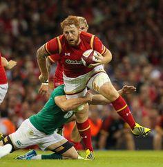 Dan Baker in action against Ireland