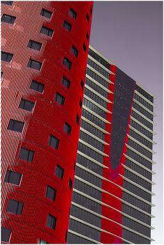 Porta Fira Towers #architecture ☮k☮