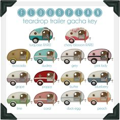 floorplan. teardrop trailer gacha key, via Flickr.